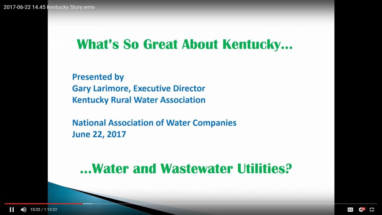 Kentucky Story