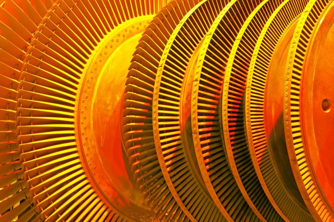 orange turbine