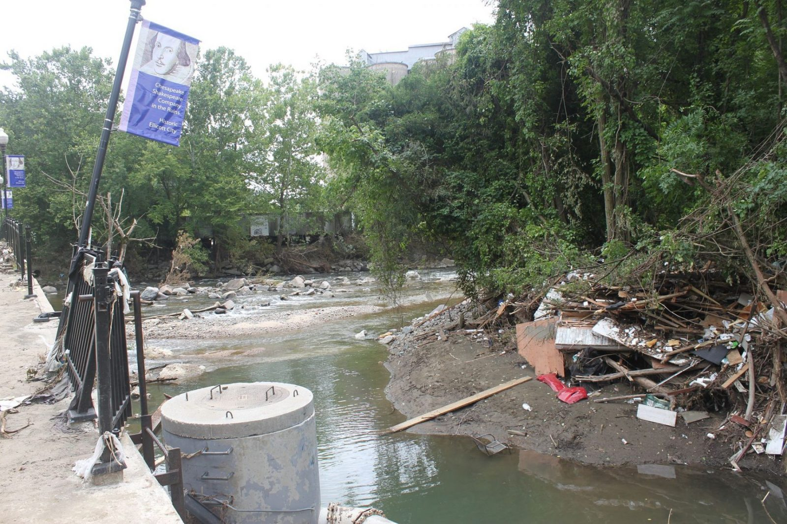 Ellicott City Flood Recovery Patapsco River 29376019606